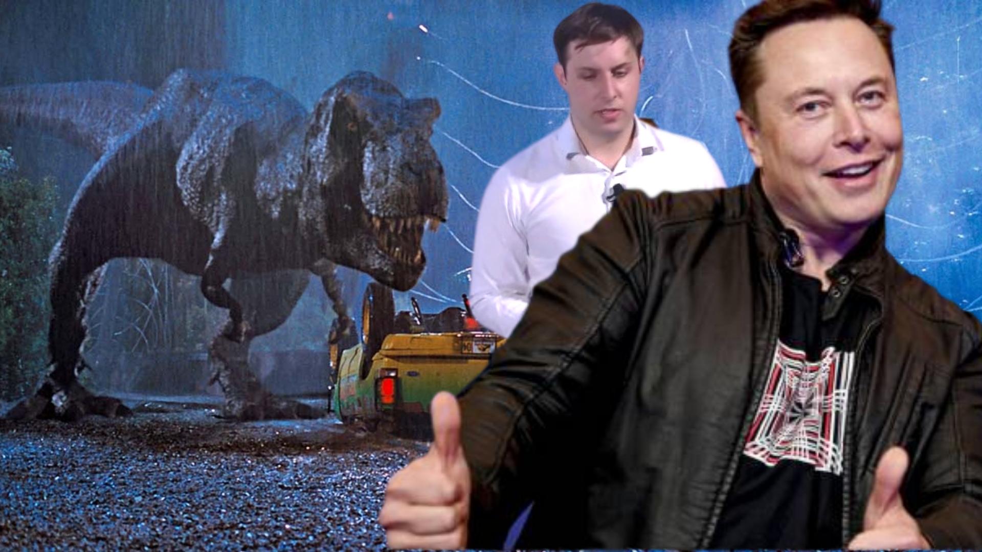Elon Musk Jurassic Park