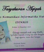 Seorang Bayi di Brebes Lahir dengan Nama Unik: Dinas Komunikasi Informatika Statistik