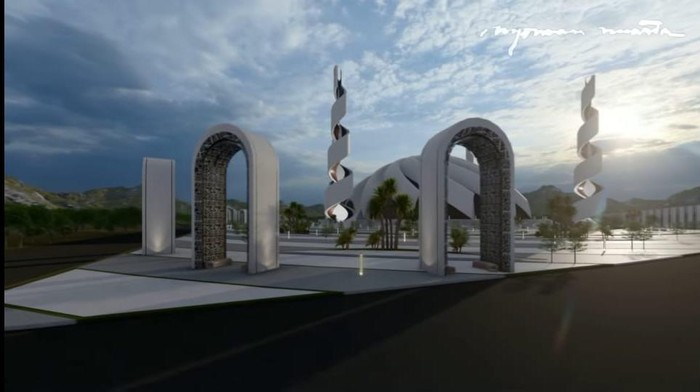 Usai Garuda Istana Negara, Nyoman Nuarta Bagikan Desain Masjid Agung untuk Ibu Kota Baru