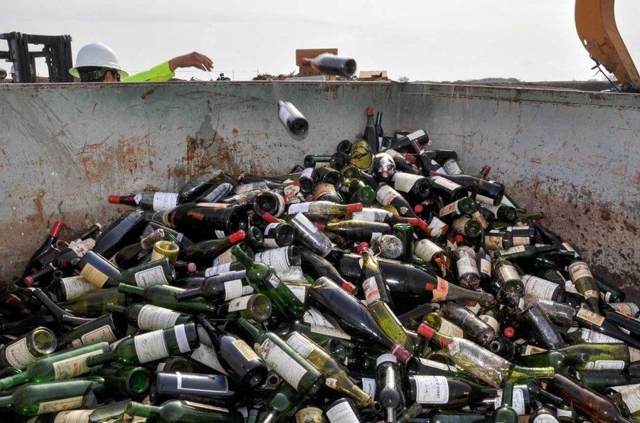 Botol wine palsu milik Rudy Kurniawan