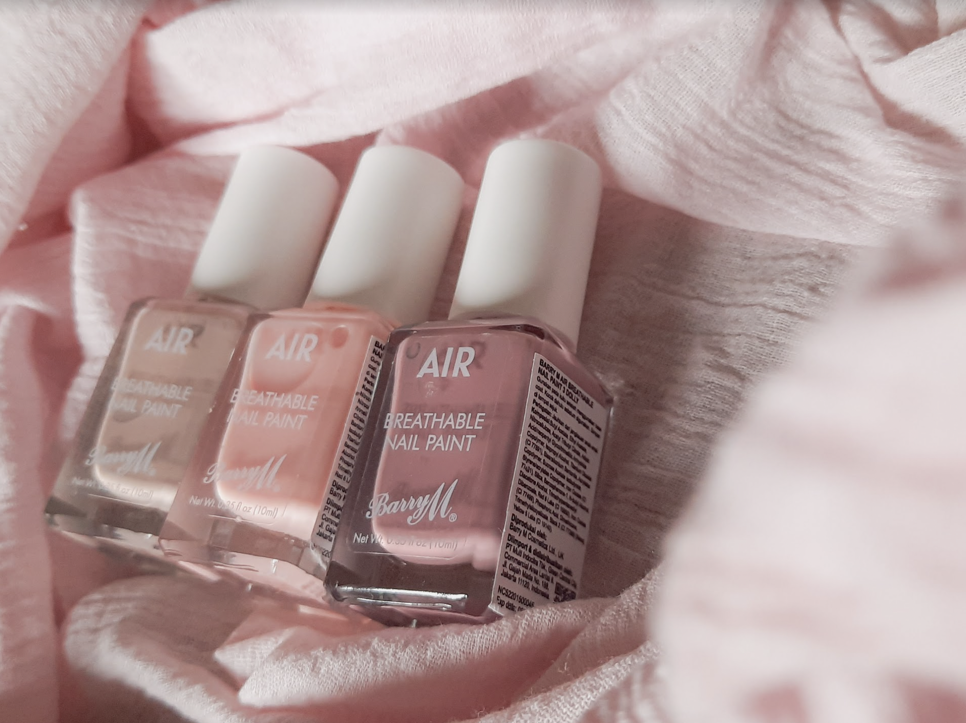Barry M Breathable Nude Colors