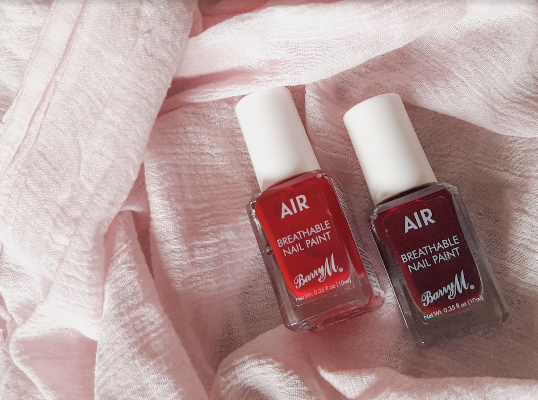 Air Breathable Nail Paint Bold Colors