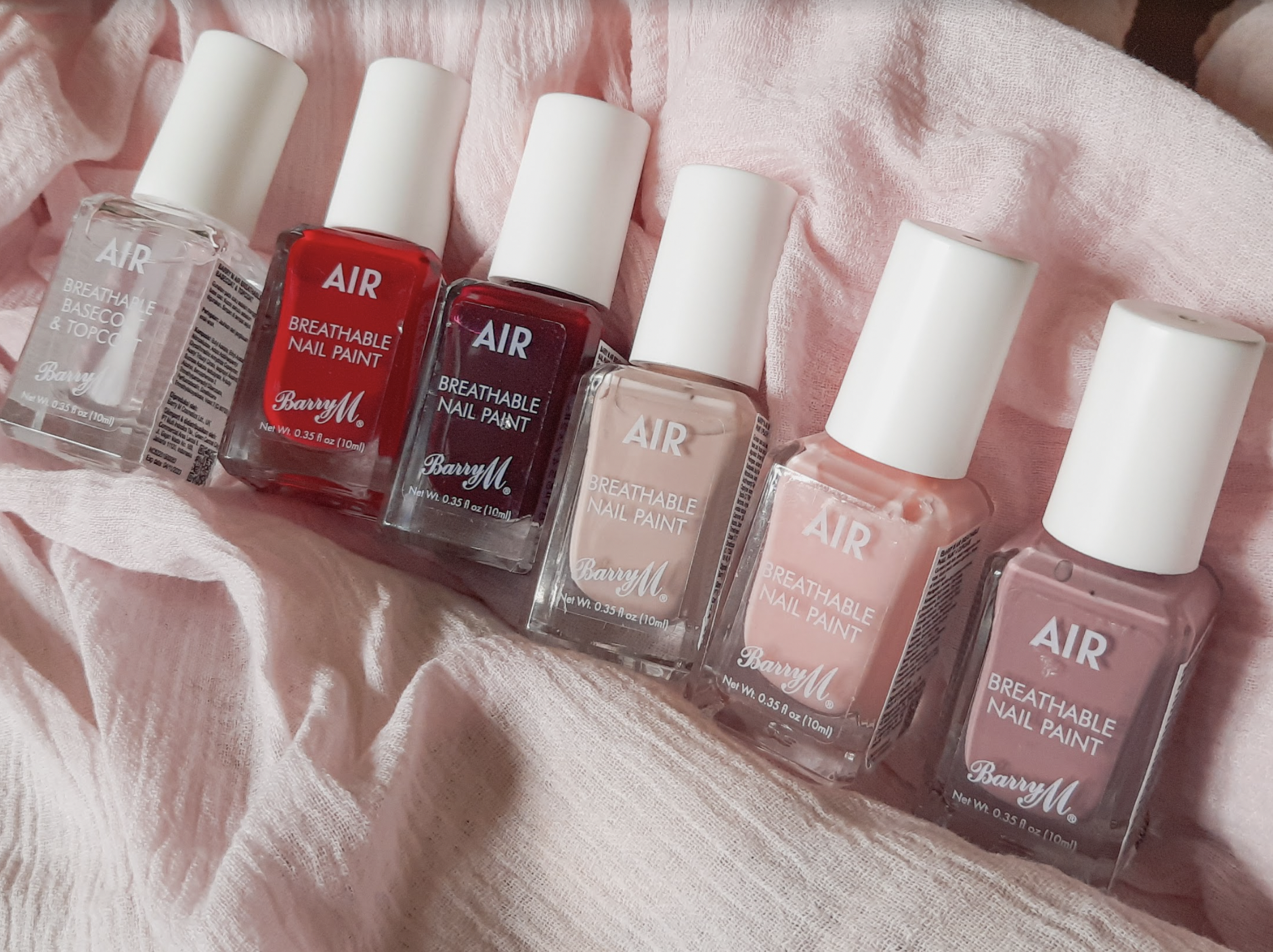 Barry M Ari Breathable Nail Paint