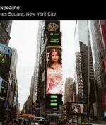 Nadin Amizah Mejeng di Times Square New York, Bangga!