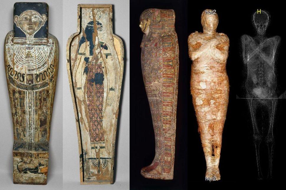 Mumi Mesir Hamil Pertama di Dunia