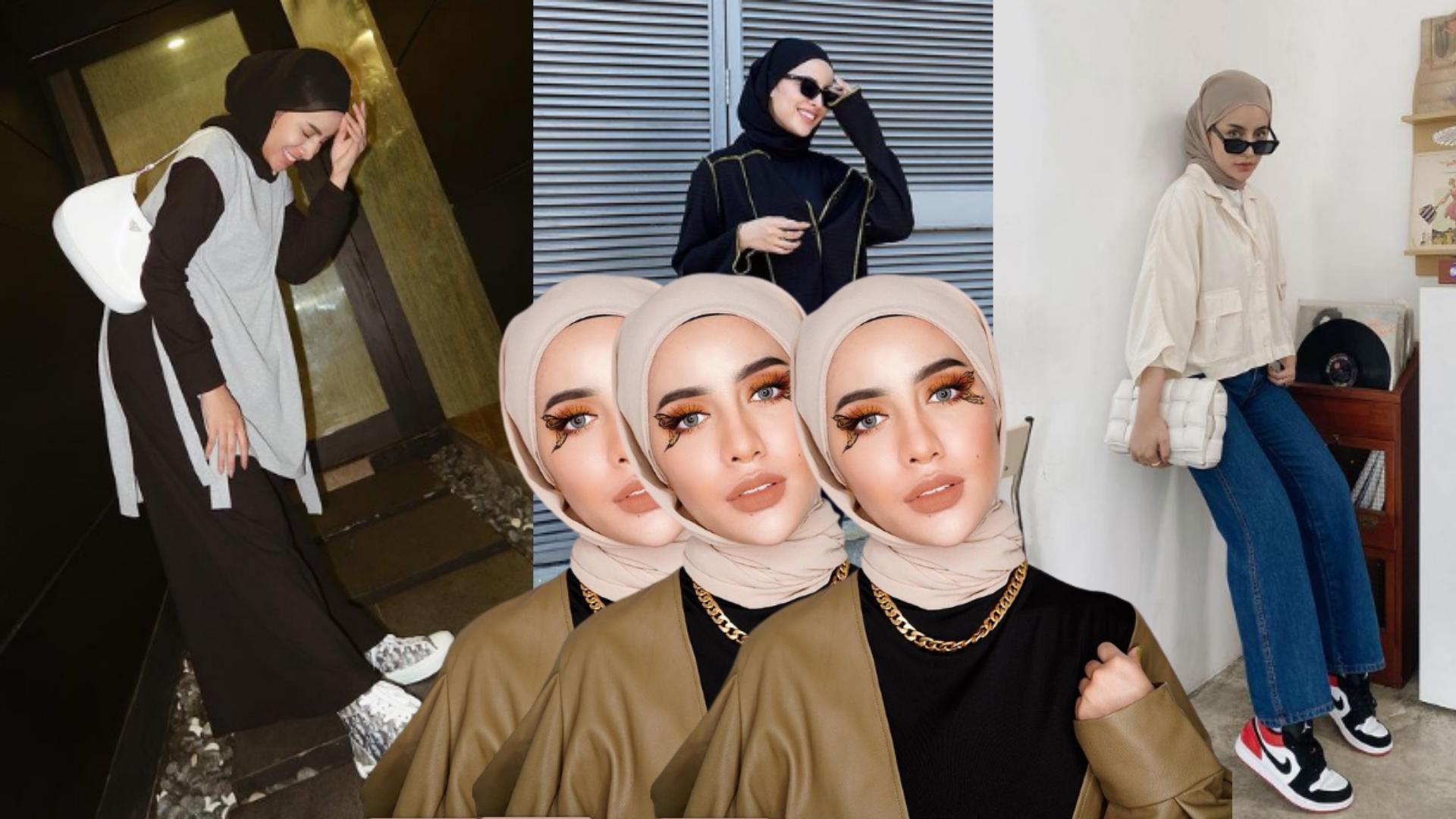 Styling Hijab Outfits Ala Aghnia Punjabi!