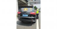 Polisi Tilang Mobil Pajero Berplat Kerajaan Sunda Nusantara!