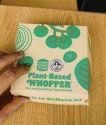 Burger King Rilis Plant Based Whopper, Menu Untuk Vegan!