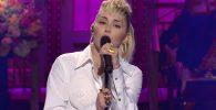 Miley Cyrus at SNL