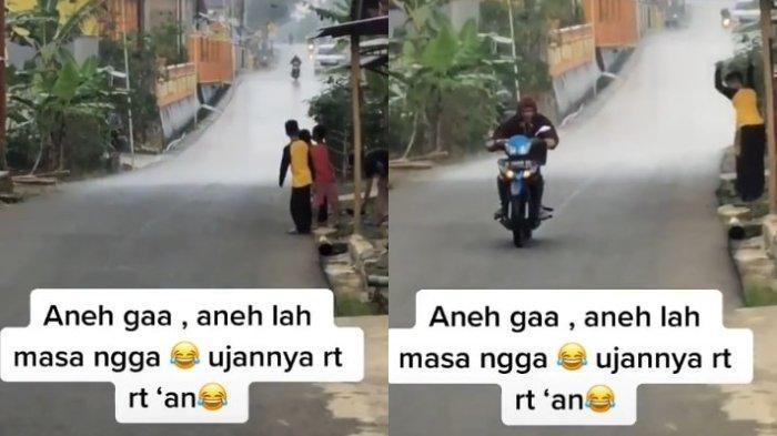 Viral Fenomena Hujan Cuma di Satu RT, Begini Videonya!