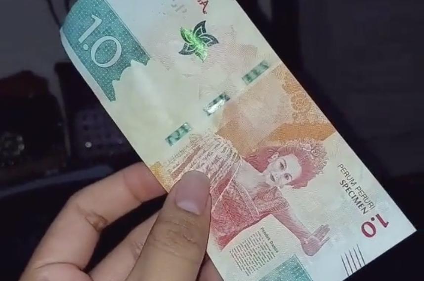 Video Viral Uang Pecahan 1.0