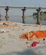 Ribuan Mayat Covid-19 Mengapung di Sungai Gangga