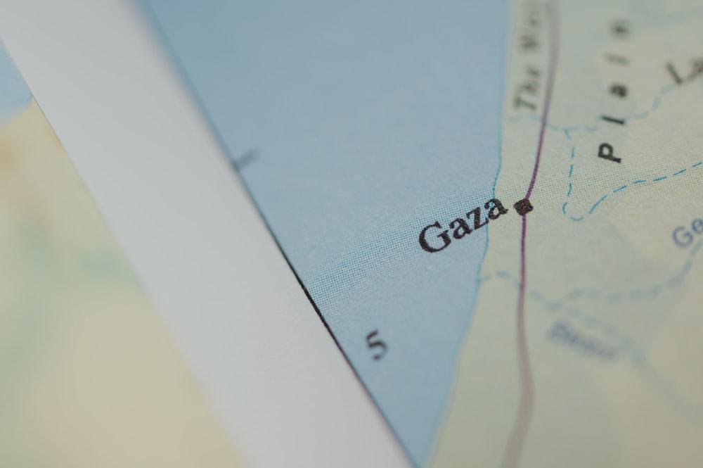 Jalur Gaza Tampak Kabur Pada Peta Digital, Kenapa?