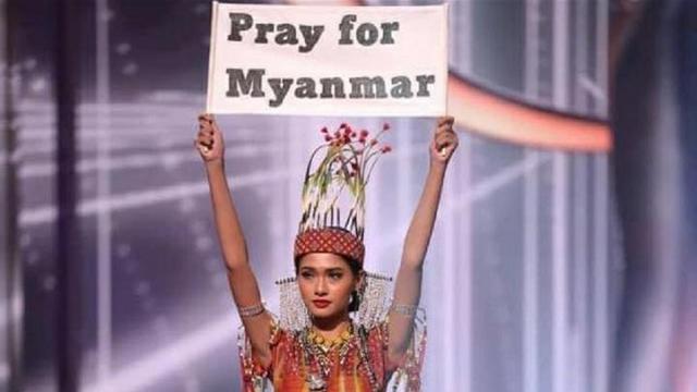 Miss Myamar Terancam Takut Pulang Usai Miss Universe 2020 Beres