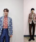 Leeteuk dan Yesung Super Junior Kenakan Batik Hasil Desain Ridwan Kamil