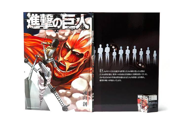 'Attack on Titan' Pecahkan Rekor, Bikin Komik Ukuran Raksasa!