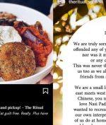 Nasi Padang Jadi Perkara, Kafe di Singapura Ini Minta Maaf