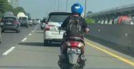 Motor Masuk Tol Jagorawi, Kini Diselidiki Polisi