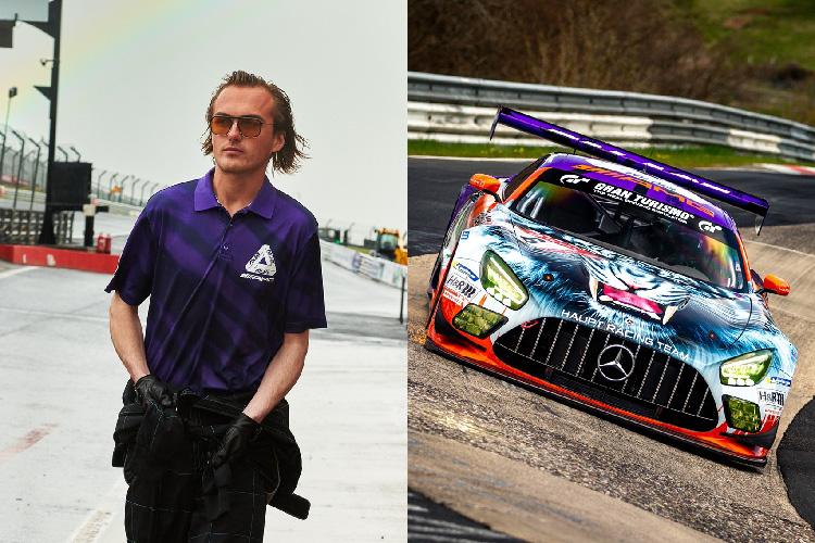 Palace x Mercedes-AMG