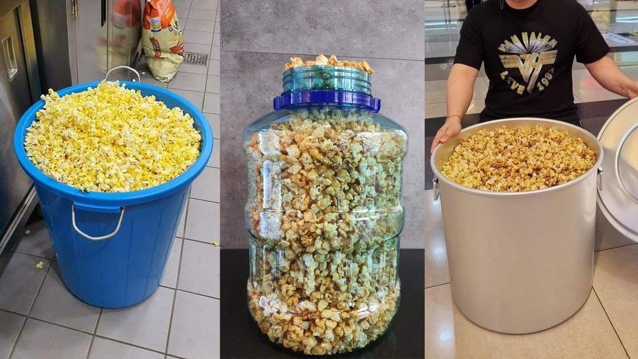 Promo Popcorn di Korea, Para Warga Borong Bawa Ember!