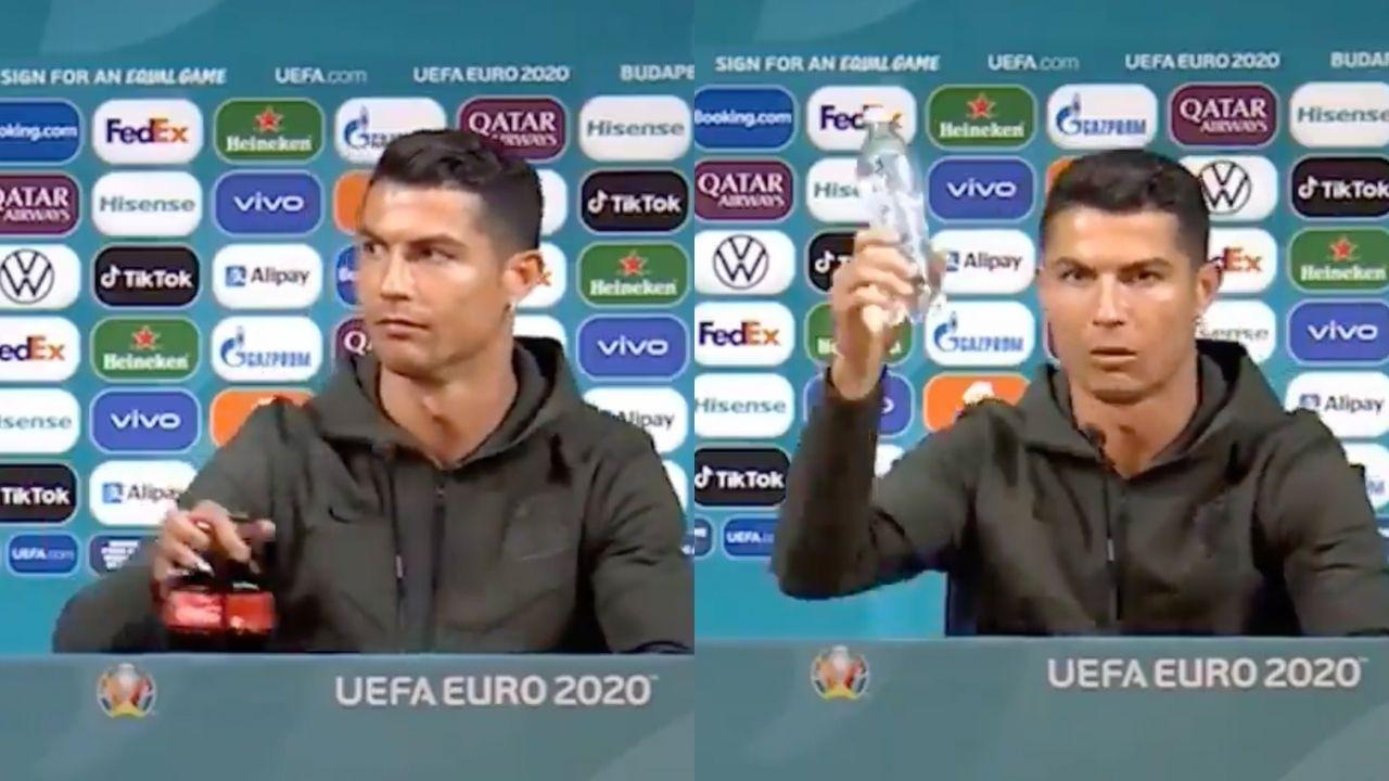 Kelakuan Cristiano Ronaldo Bikin Coca-Cola Rugi Puluhan Triliun, Kok Bisa?