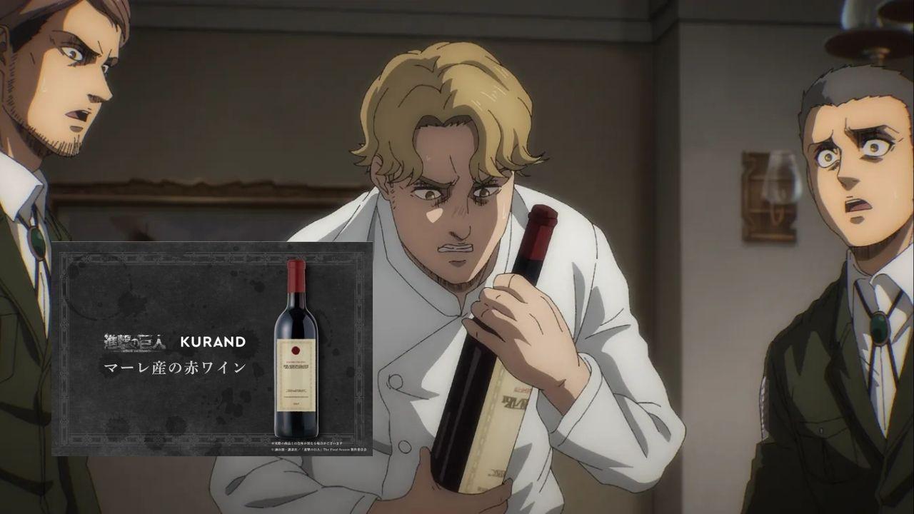 'Attack on Titan' Bikin Wine Bangsa Marley, Gimana Jadinya?