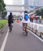 Jalur Sepeda Permanen Dibongkar, Tanda Kemunduran Transportasi?