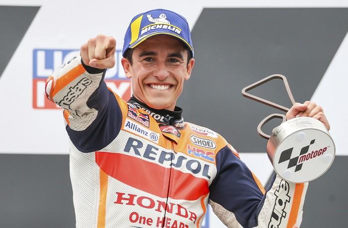 MotoGP Jerman 2021: Marquez Jadi Juara Walau Usai Cedera!