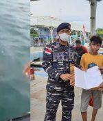 Prajurit TNI AL Temukan Benda Terombang-ambing di Tengah Laut, Ternyata Anak Bocah!