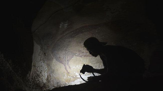 Lukisan Tertua Dunia di Sulawesi Terancam Rusak