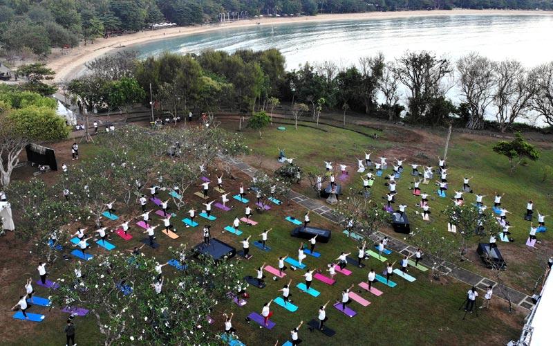 Pulai Nusa Dharma di Bali Jadi Pulau Yoga, Satu-Satunya di Dunia?