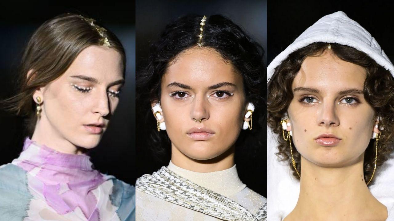 Dior Cruise 2022: Tren Makeup Mata Pakai Mutiara Bak Goddess Yunani!