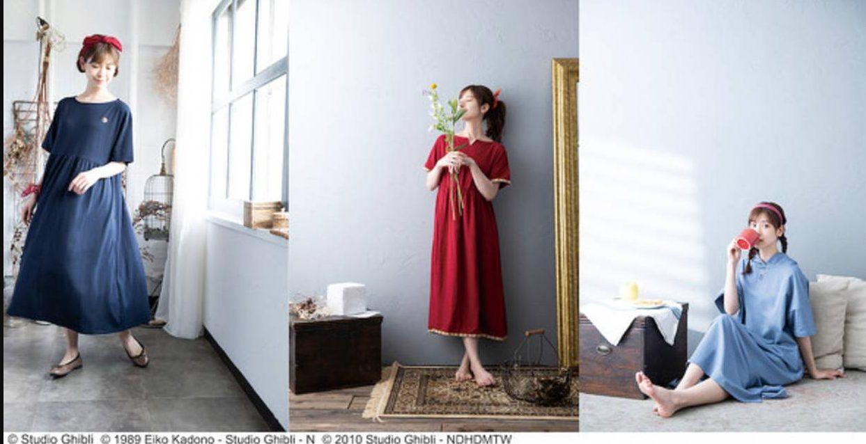 Studio Ghibli Perkenalkan Koleksi Loungewear yang Terinspirasi Dari Karakter-Karakter Utama Perempuannya