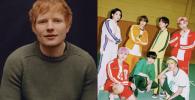 Ed Sheeran Bikin Lagu Baru Buat BTS, Begini Reaksi Netizen