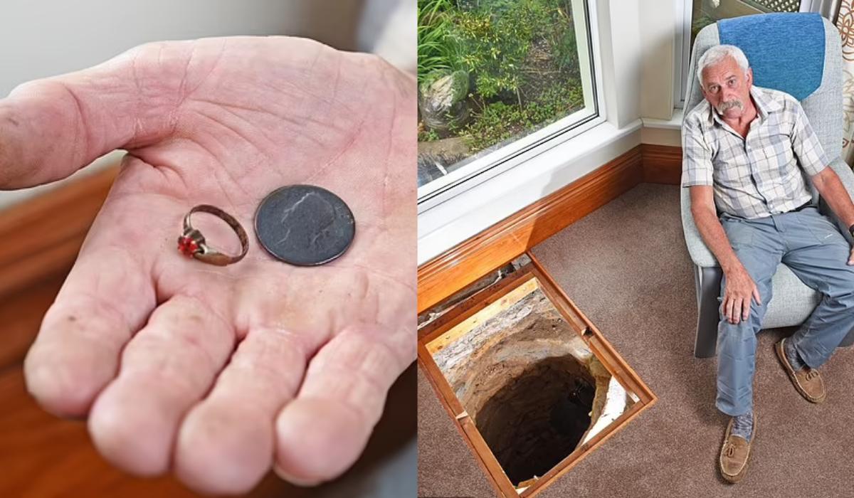Seorang Kakek Temukan Sumur Kuno di Dalam Rumah, Ini Isinya!