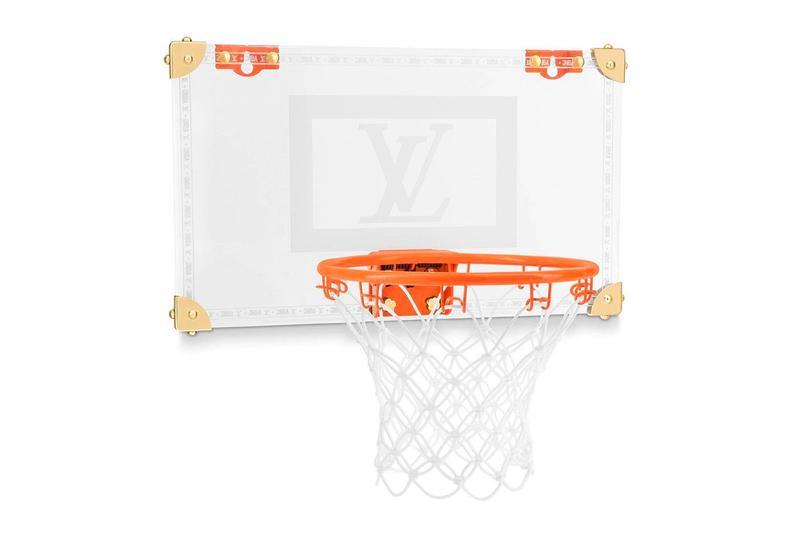 NBA X Louis Vuitton, Kolaborasi Bikin Papan Ring Basket!