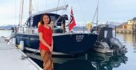 Perempuan Asal Surabaya Ini Hidup di Yacht, Bersihkan Pantai Norwegia dari Sampah!