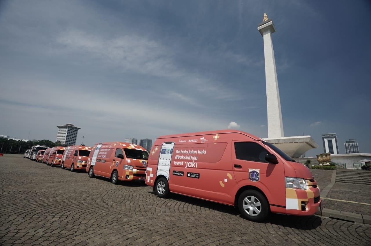 Pemprov DKI Jakarta Siapkan Mobil Vaksin Keliling