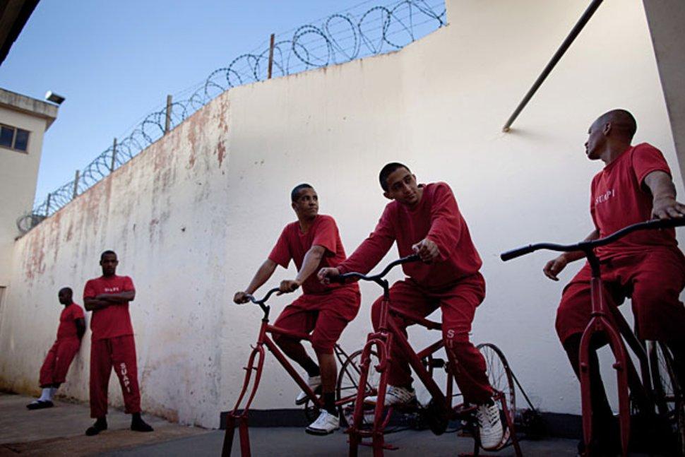 Gowes Sepeda, Narapidana di Brasil Bisa Potong Masa Hukuman