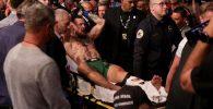 Ini Penjelasan Atlet Kenapa Kaki Conor McGregor Patah