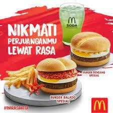 menu mcd
