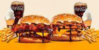 Burger King Perkenalkan Menu Burger dengan Saus Cokelat