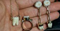 Ahli Perhiasan Ini Ciptakan Kalung, Cincin dan Anting dari Tulang Manusia, Alasannya Mengharukan