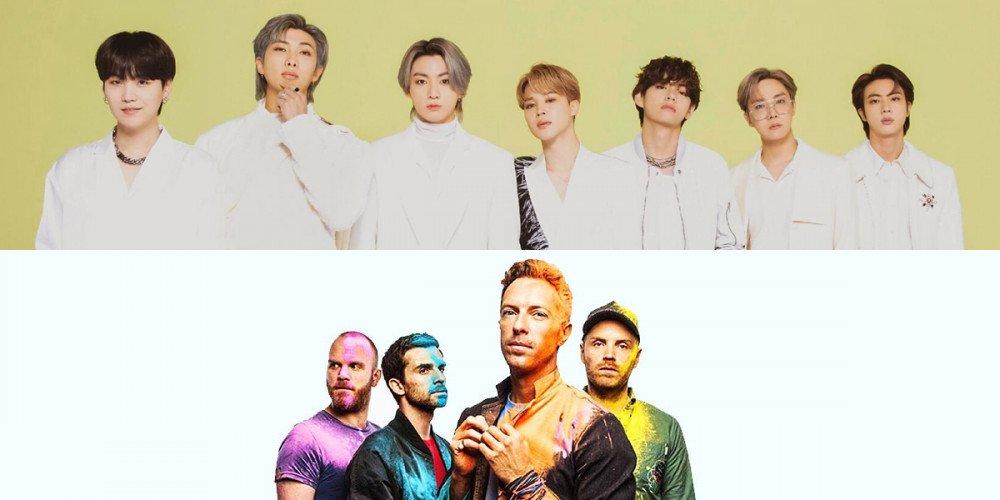 Rekaman BTS dan Coldplay Diduga Bocor, Kolaborasi?