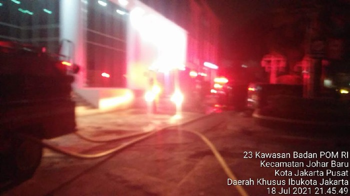 Kebakaran BPOM, Kerugian Ditafsir Mencapai 600 Juta