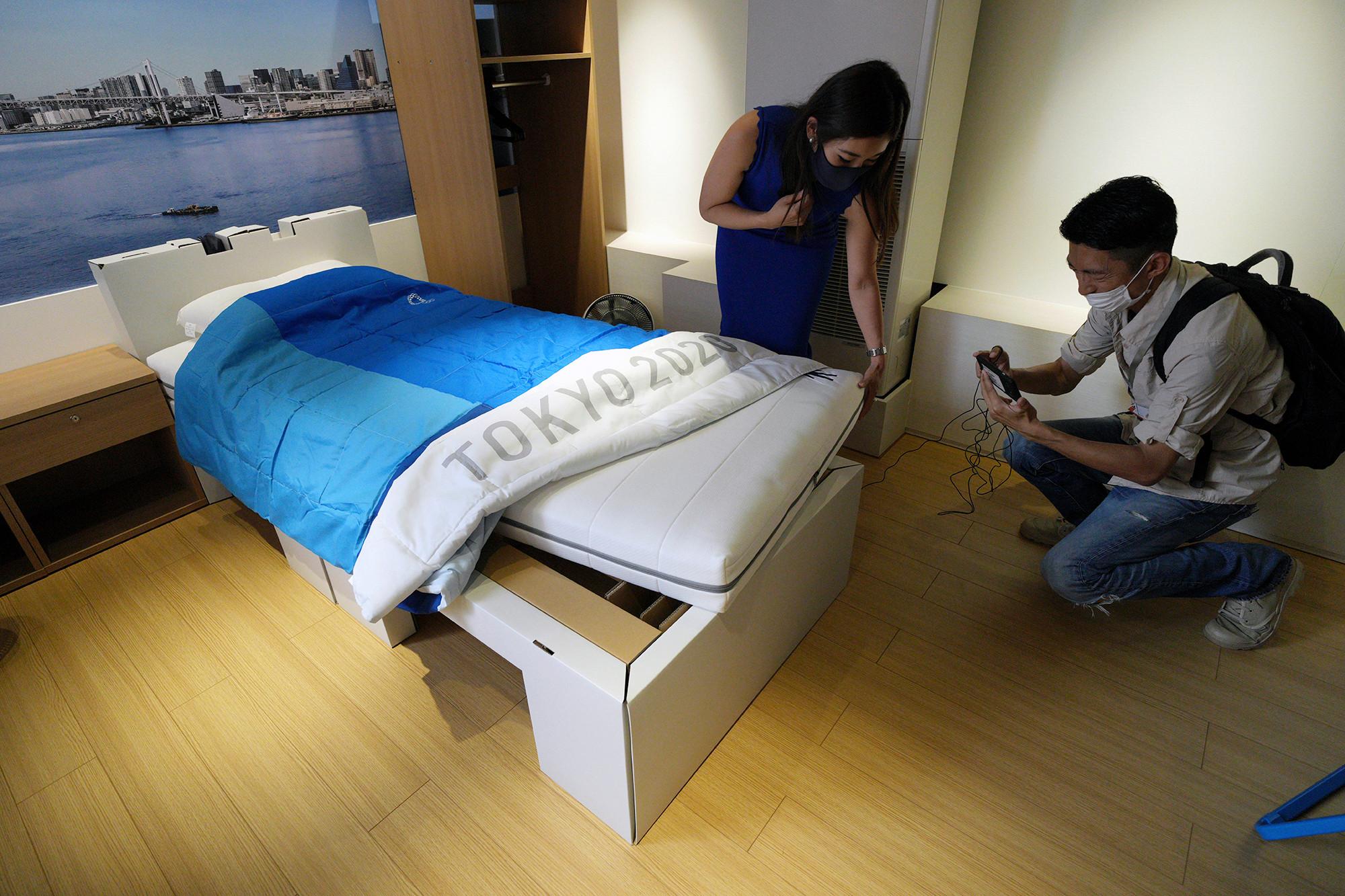 Atlet Olimpiade Tokyo Harus Tidur di Kasur Kardus 'Anti-Sex', Gimana Wujudnya?