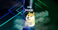 AXE Bikin Body Spray dengan Aroma Dogecoin