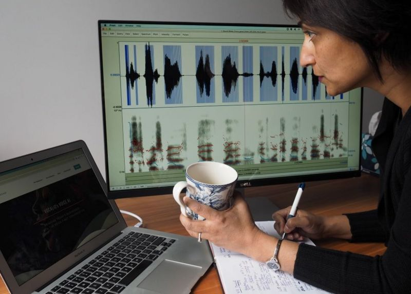 Rupal Patel, CEO perusahaan teknologi klonign suara