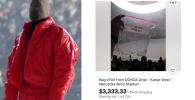 """Udara dari Listening Party Album """"Donda"""" Kanye West Dijual Seharga Rp50 Juta (Belum Termasuk Ongkir)"""
