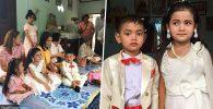 Reikarnasi Sepasang Kekasih, Anak Kembar 5 Tahun Dinikahkan Orangtuanya